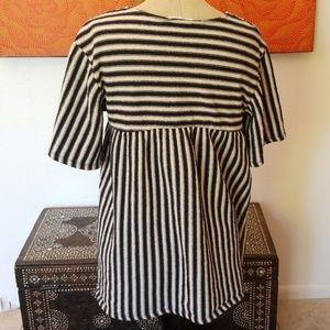 Zara Tops - Zara striped top